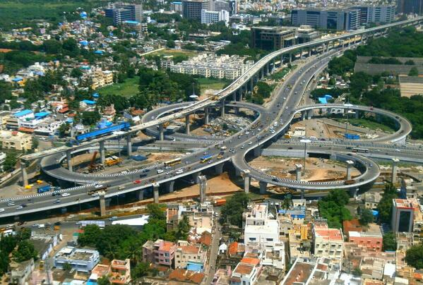 Kathipara Junction2 - Chennai_ India