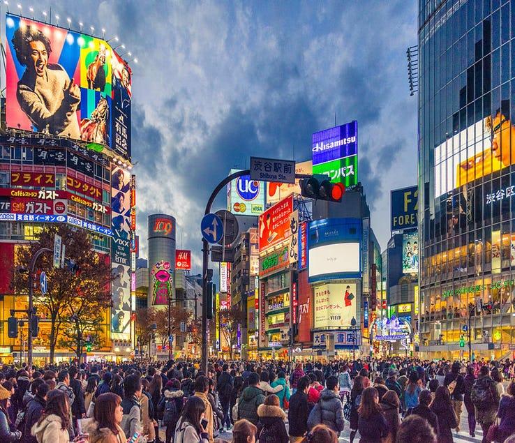 Shibuya Crossing - Tokyo_ Japan