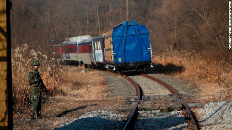 راه آهن کره شمالی