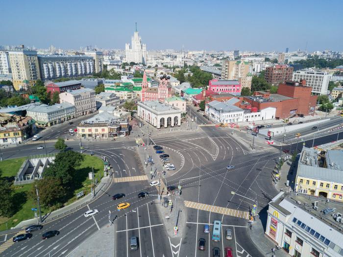 Taganskaya Square - Moscow_ Russia2