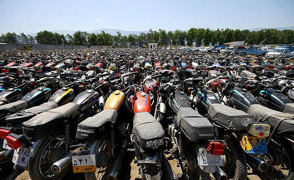 موتورسیکلت فرسوده