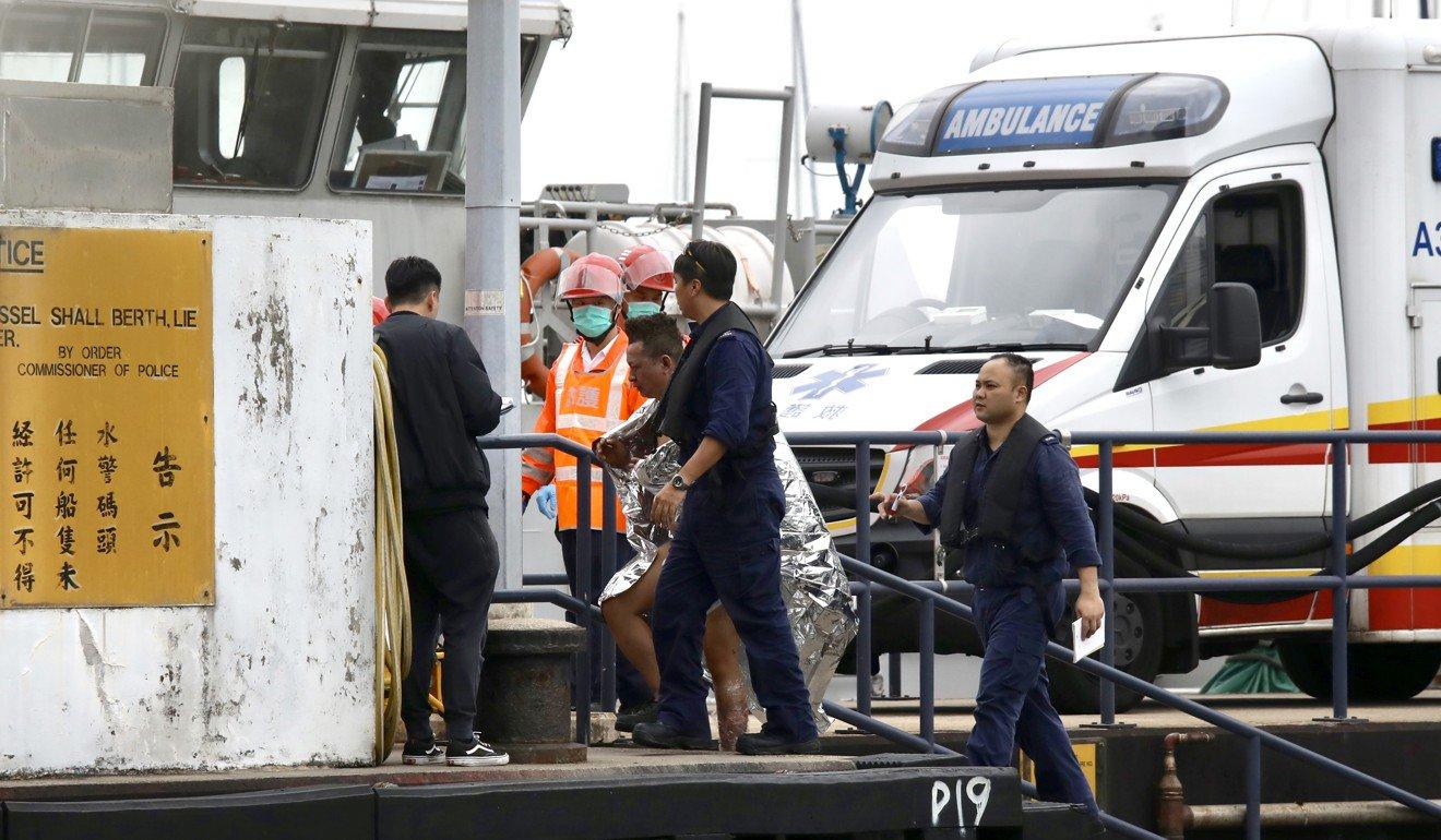 حریق نفتکش در هنگ کنگ