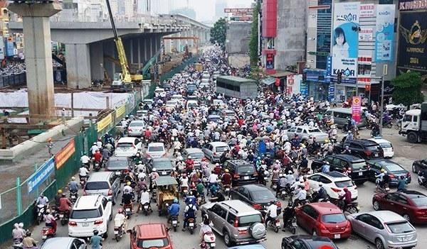 Ha Noi Intersection- Hanoi_ Vietnam2