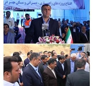 افتتاح 7 پروژه راهداری وحمل ونقل جاده ای استان خراسان شمالی