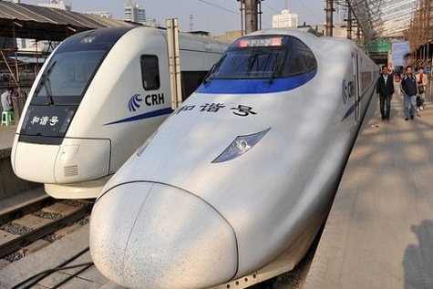 China opens high - speed rail link to North Korean border