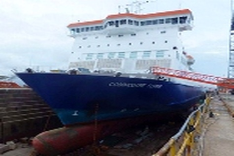 Grounding and flooding of the ro - ro ferry Commodore Clipper