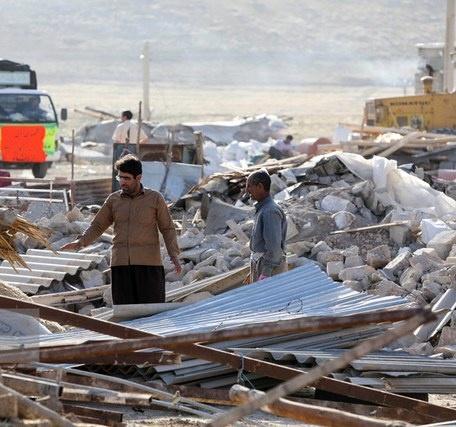 خدمات رسانی 500 نیروی شهرداری تهران در مناطق زلزله زده