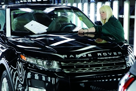 Jaguar Land Rover to cut 1,000 jobs at Solihull