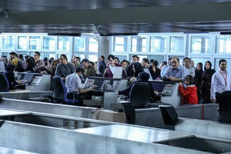 (تصاویر) موج دوم تقاضای سفر در  فرودگاه امام