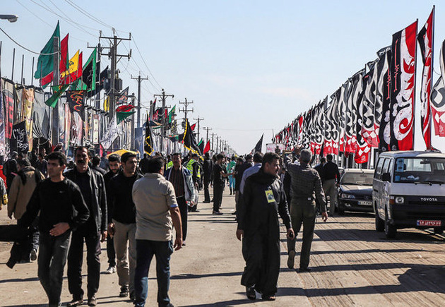 پیگیری تداوم تردد کامیونهای صادراتی از مرز چذابه در ایام اربعین