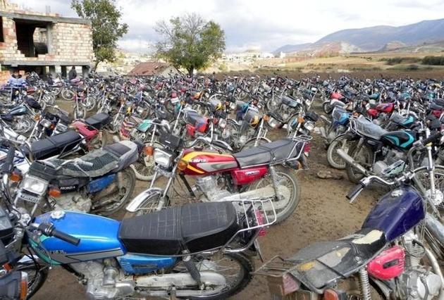 رسوب موتورسیکلتهای فرسوده در ریههای شهر