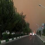 وزش بادهای شدید در تهران ادامه دارد