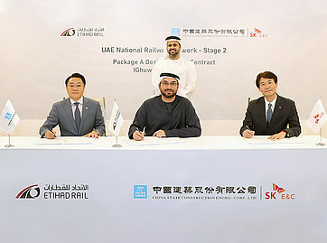 Etihad Rail awards Stage Two construction contract