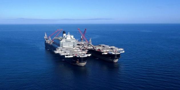 بزرگترین کشتی ساختمانی دنیا به سواحل نروژ میرود