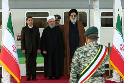آئین افتتاح قطار برقی شهر جدید هشتگرد