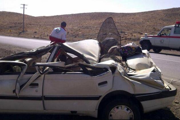 تصادف در محور ارومیه-سلماس یک نفر کشته برجا گذاشت