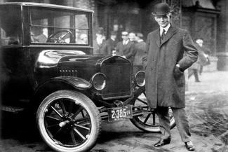 (تصاویر) سالگرد خداحافظی نخستین خودرو تولیدانبوه از خطتولید