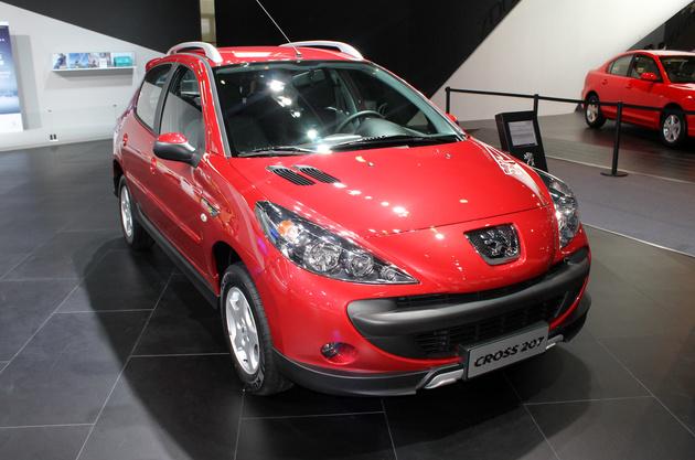مدل چینی پژو 207 کراس در بازار ایران؟