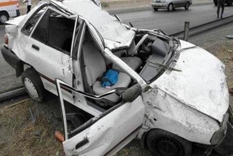 تصادف مرگبار در جاده دزفول - شوشتر با ۴ فوتی