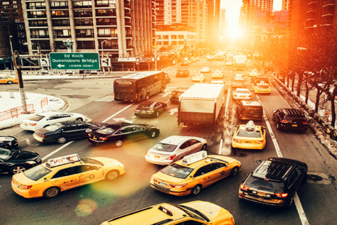 Inrix identifies worst traffic hotspots in the USA's 25 most congested cities