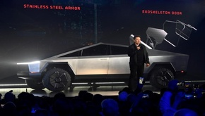 رونمایی از خودرو «تسلا» که با انرژی خورشیدی حرکت میکند