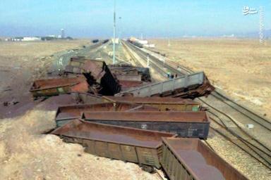 کمیته بررسی سوانح در محل خروج قطار باری کاشمر-نیشابور
