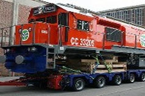ISR freight locomotives delivered
