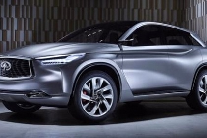 Infiniti heads to Detroit with QX۵۰ Concept, variable compression turbo engine