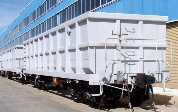 ۱۷۵ دستگاه واگن باری در اراک تولید شد