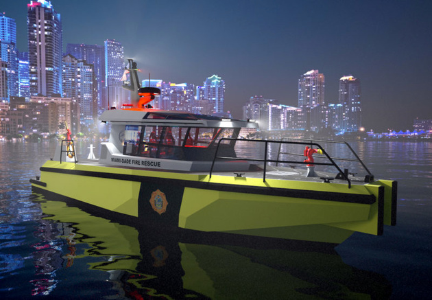 Metal Shark to Build New Miami-Dade Fire Boats