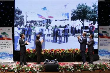 مراسم آغاز عملیات اجرایی برقی سازی راهآهن- گرمسار اینچه برون
