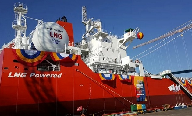 Delivery of World's First LNG-Fuelled Bulk Carrier Announced