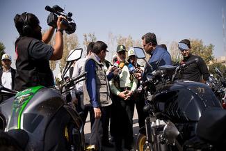 توقیف 55 خودرو لوکس به دلیل «دور دور» کردن  در تهران
