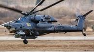 سقوط یک بالگرد نظامی روسیه دو کشته برجای گذاشت