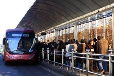 تمهیدات شرکت واحد اتوبوسرانی تهران برای روزهای پایانی سال