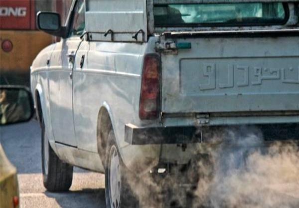 اعزام ۱۰۸۴ خودروی آلاینده به پارکینگ