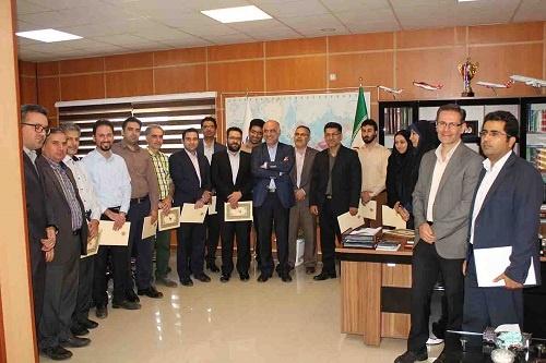 تقدیر از کارمندان نمونه فرودگاه مهرآباد