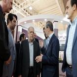 بازدید اکبر ترکان از ششمین نمایشگاه بین المللی حمل و نقل ریلی
