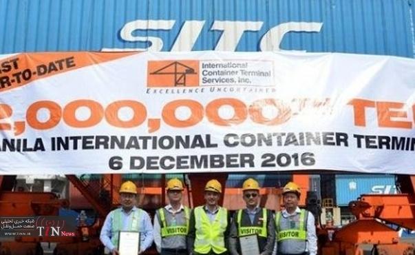 ICTSI Manila hits ۲M TEU milestone