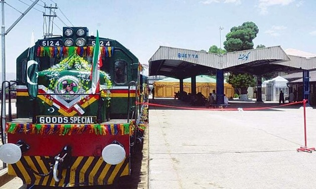 فعالیت سرویس قطار باری ایران-پاکستان متوقف شد