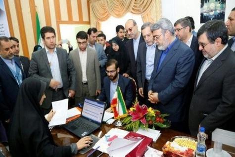وزیر کشور از محل ثبت نام کاندیداهای شوراها بازدید کرد