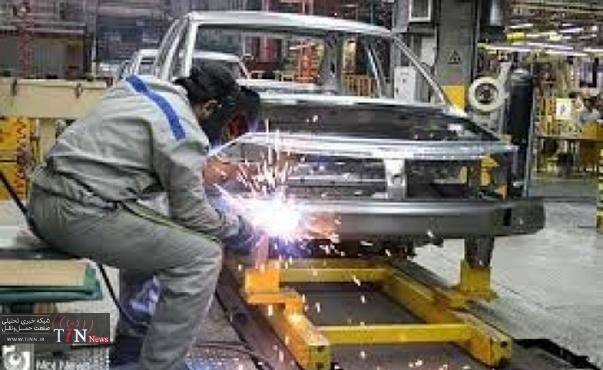 افزایش ۳۹ درصدی تولید خودرو در کشور