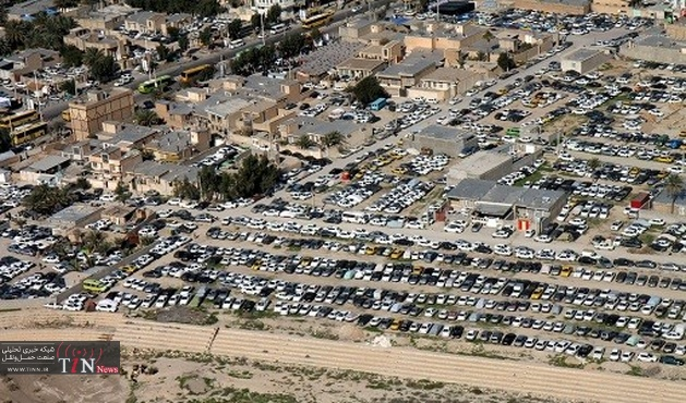 ترافیک سنگین خودروها؛ مهران - ایلام
