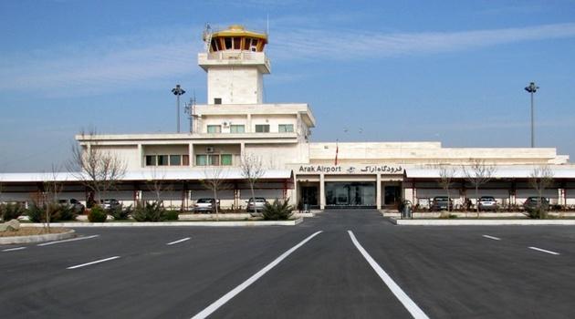 استقبال استان و شهرهای همجوار از پروازهای فرودگاه اراک