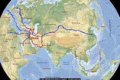 لزوم ایجاد اتحادهای ترانزیتی با کشورهای آسیای مرکزی، اروپا، هند و چین