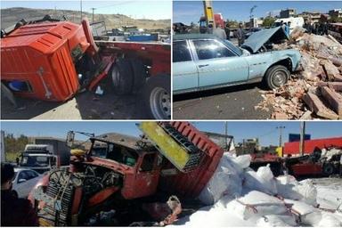 سه مجروح و دو کشته در تصادفات 24 ساعت گذشته جاده های کشور