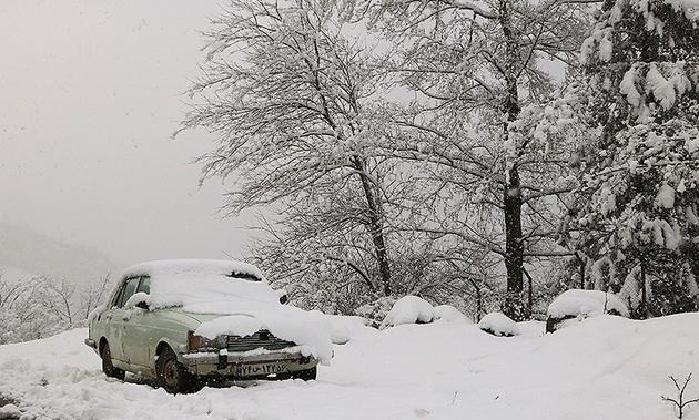 پیش بینی بارش برف و باران در ۲۰ استان