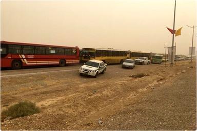 فعالیت تجاری و تردد زوار در مرز بینالمللی مهران از سر گرفته شد