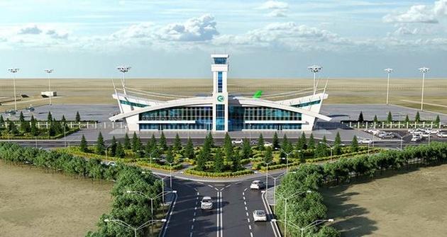 آغاز به ساخت فرودگاه جدید ترکمنستان