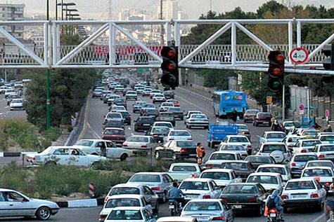ترافیک سنگین در کرج- قزوین و جاده هراز